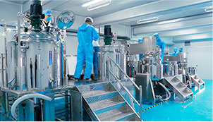 欧泉生化-生产标准与规模