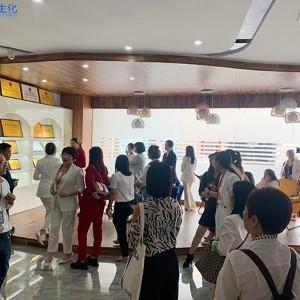 客户团队参观欧泉工厂