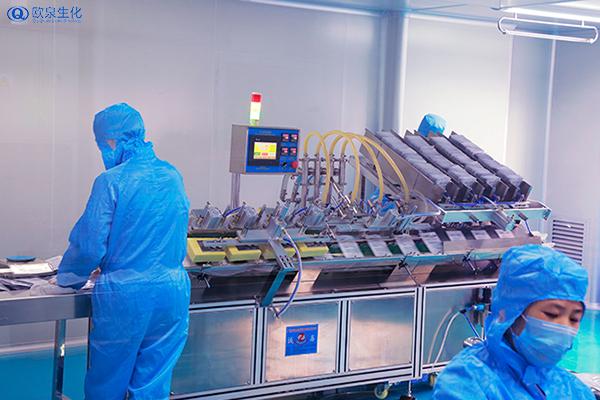 全自动流水线化妆品OEM代加工厂家-欧泉生化