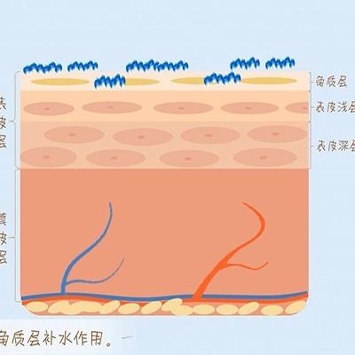 玻尿酸保湿原液给一个你保湿水库