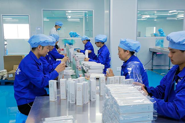 欧泉生化-生产线